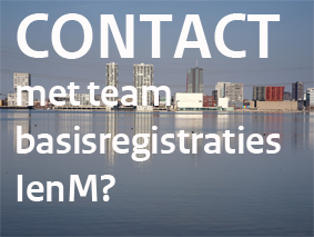 Contact met IenM over de geo-basisregistraties?